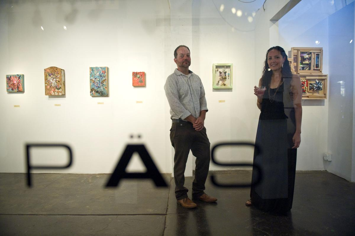 Brian and Kristy Prince own PAS Gallery inside the Magoski Arts Colony in downtown Fullerton.